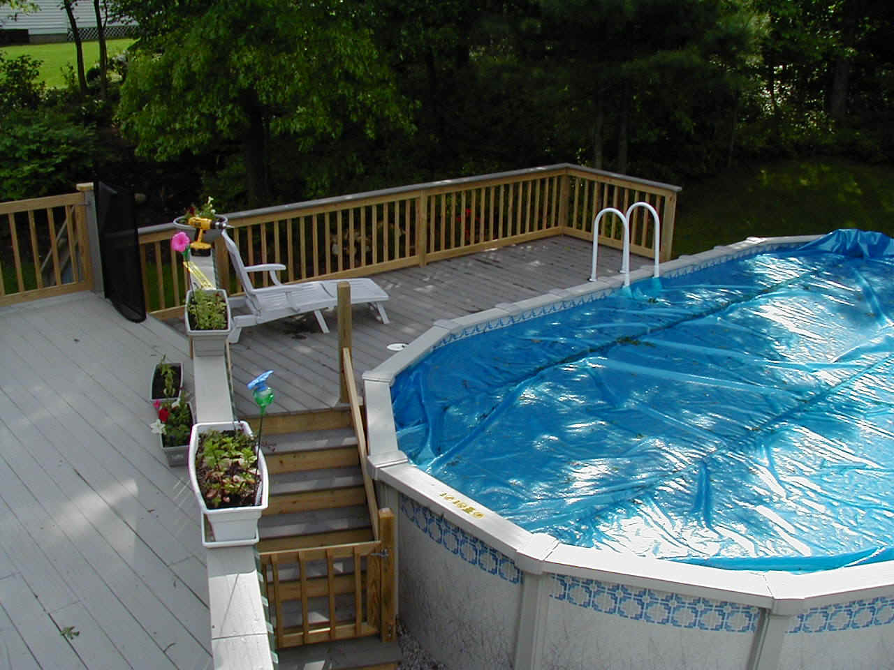 Pool decks for Wood pool deck design